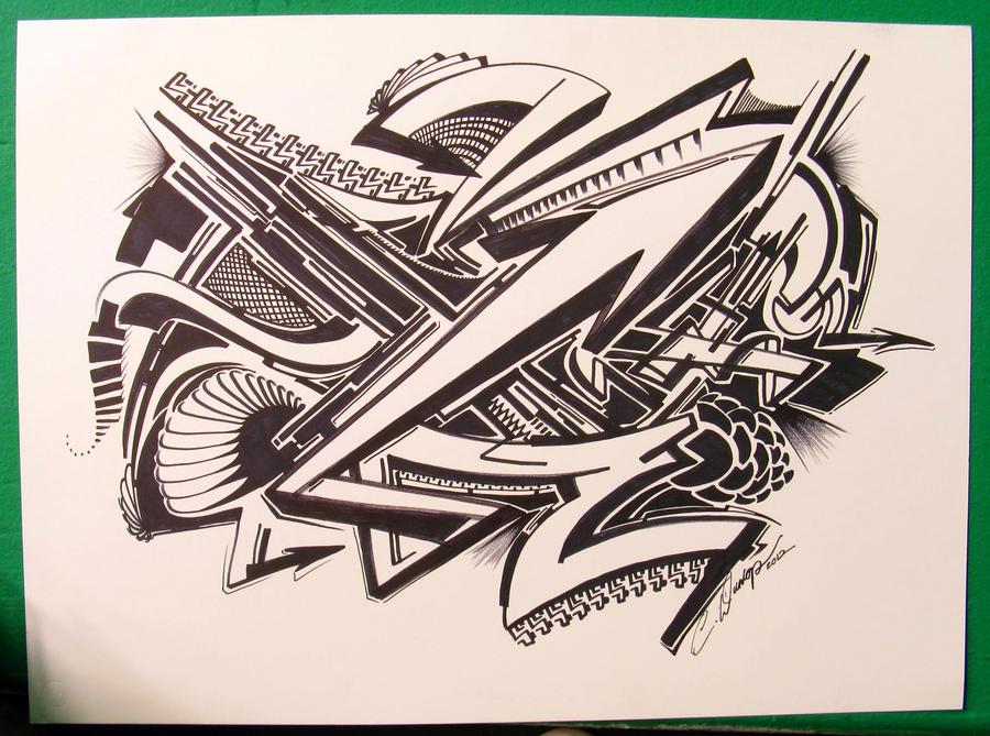 Sharpie Piecez by PinstripeChris