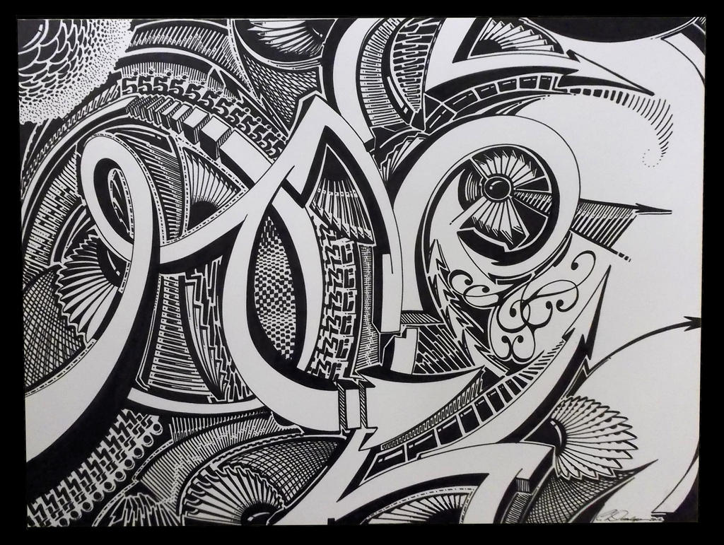 Detail in Ink by PinstripeChris
