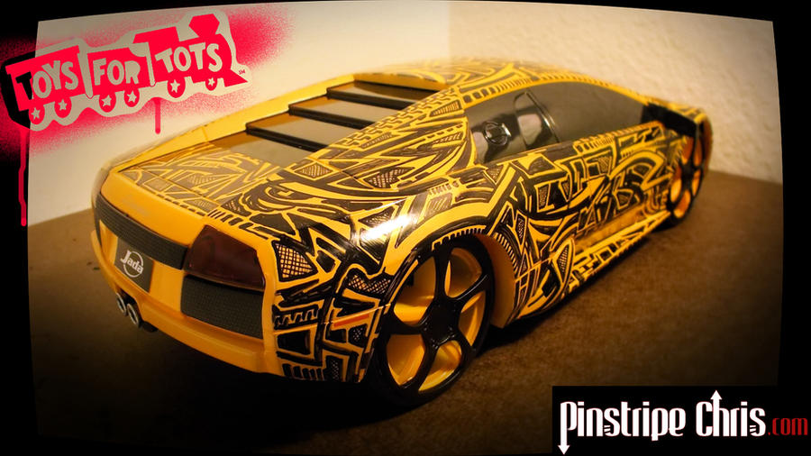 2012 Toys For Tots Logo : Sharpie lamborghini toys for tots donation by
