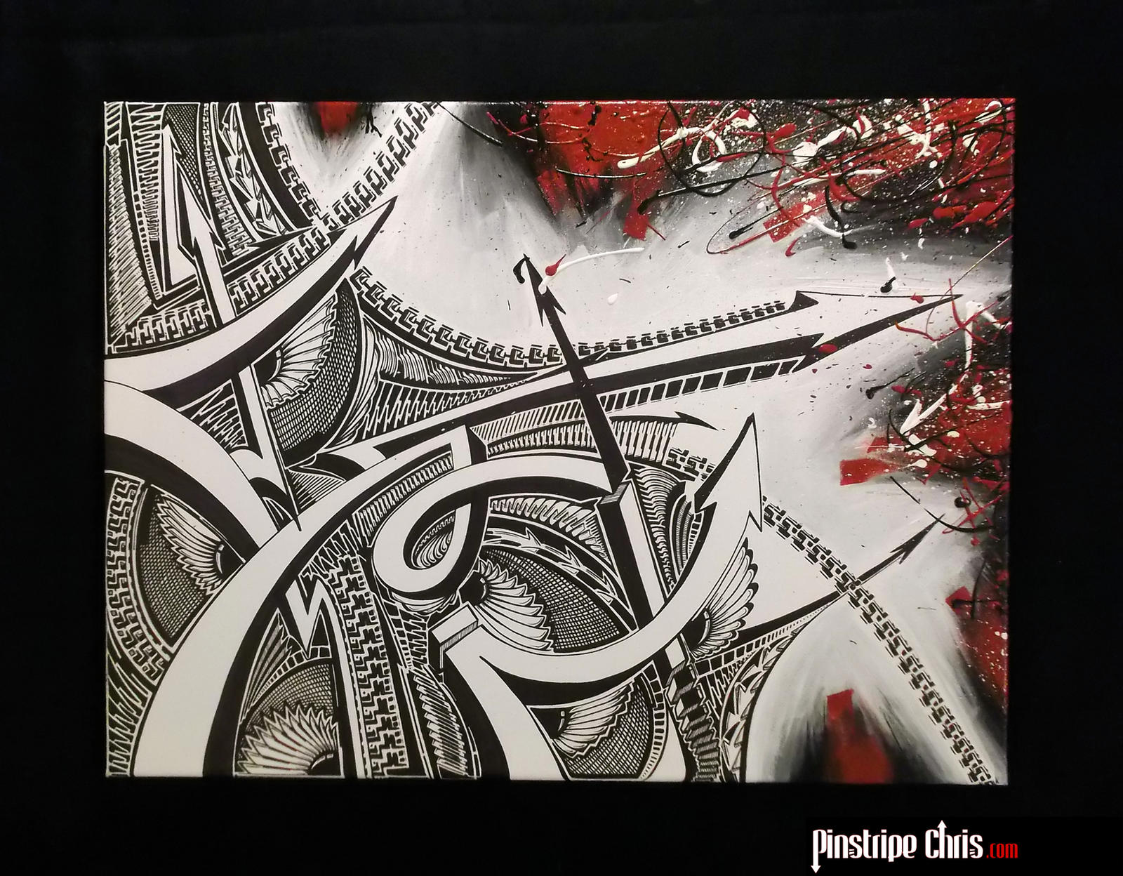 The Sharpie Vs Acrylic Battle by PinstripeChris
