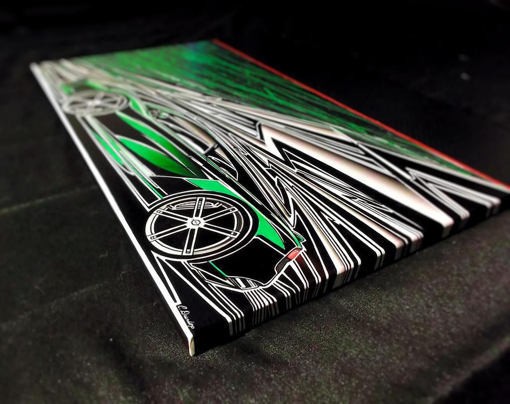 Lamborghini Sharpie Art (preview) by PinstripeChris
