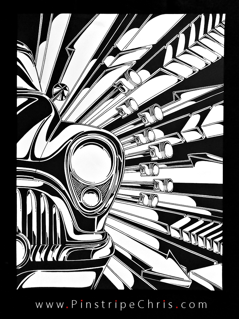 Sharpie Art  Straight 8 by PinstripeChris