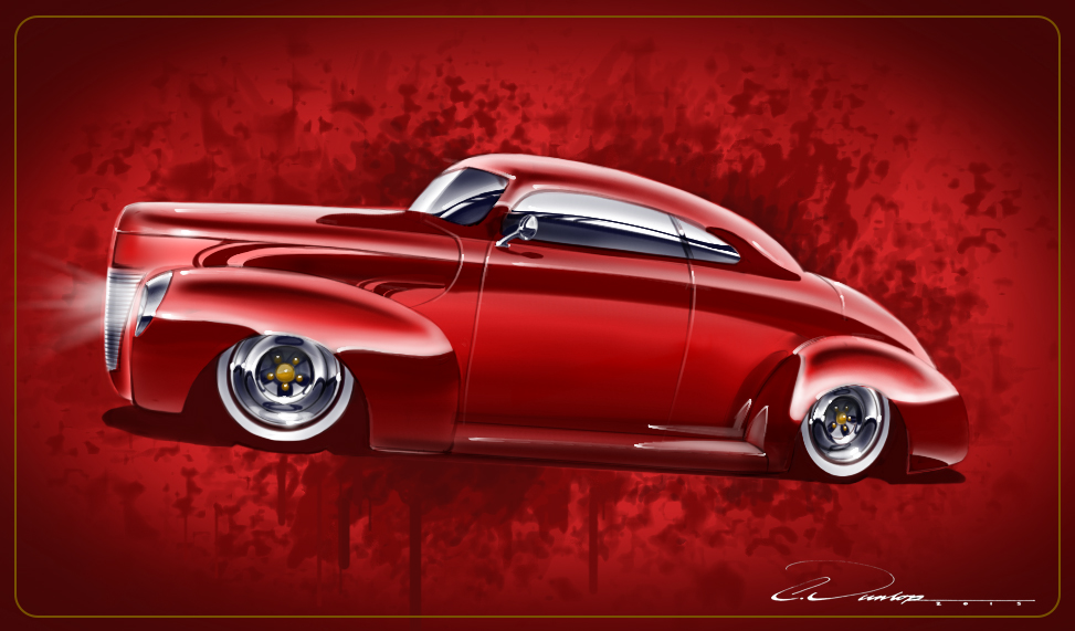 1940 Ford Kustom by PinstripeChris