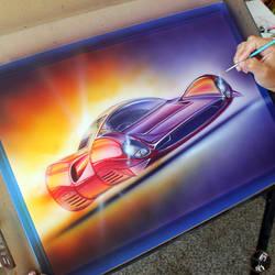 Ferrari P3 Futurism by PinstripeChris