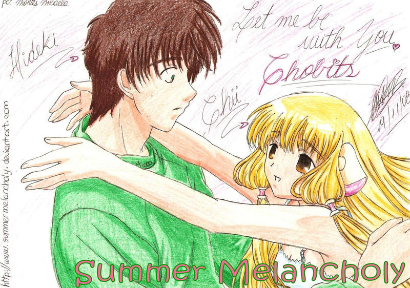 Chobits Hideki and Chii by summermelancholy on DeviantArt