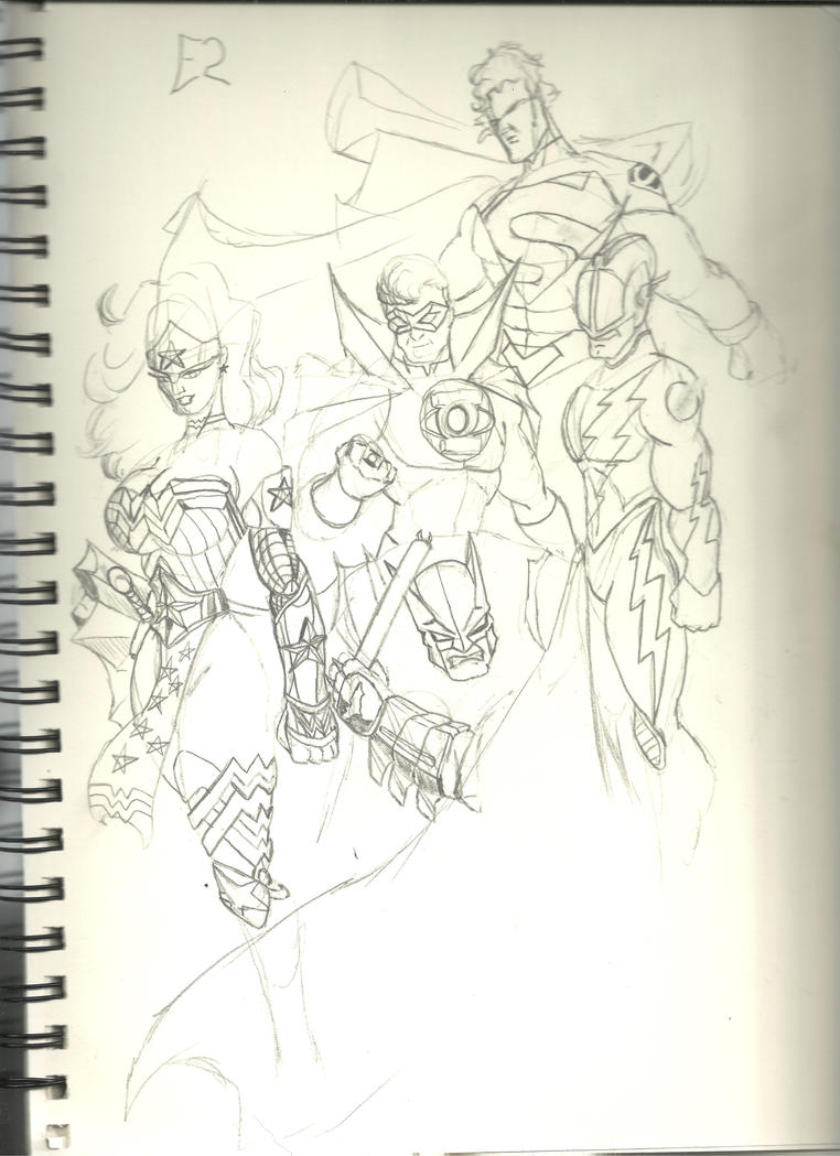JLA contest pic 001 by Skywise783