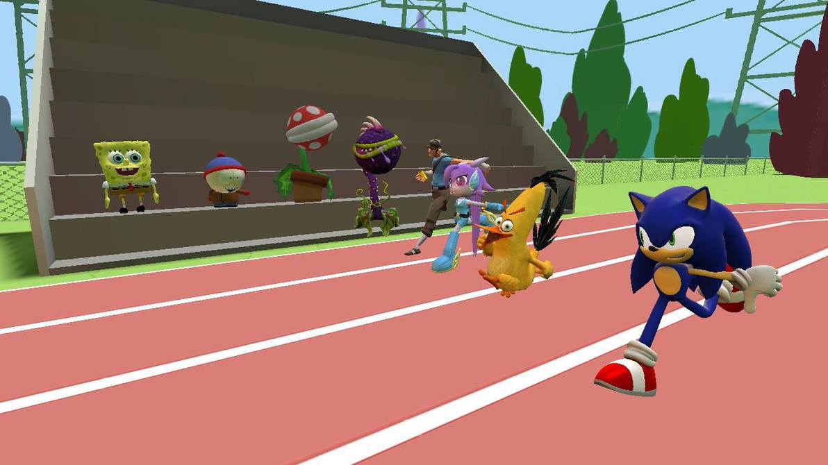 A Race Of A Life time by DrewThg2002