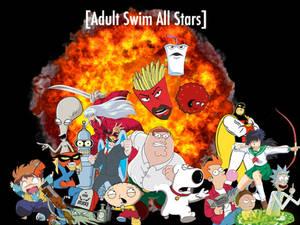 Adult Swim all stars Poster
