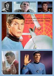 Spock collage by azina-osana
