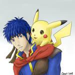 Ike and Pikachu