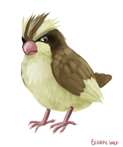 016 Pidgey by global-wolf