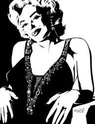 Marilyn Monroe by AndyShelstad