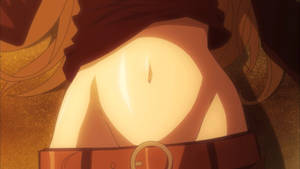 Anime Belly button 2 by The-Asder