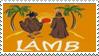 Lamb Stamp by Krisderp