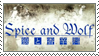 Spice and Wolf Stamp II by Krisderp