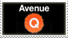 Avenue Q Stamp by Krisderp