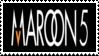 Maroon 5 Stamp by Krisderp