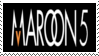 Maroon 5 Stamp by Krisderp