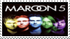 Maroon 5 Stamp ll by Krisderp
