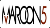 Maroon 5 Stamp lll by Krisderp