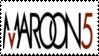 Maroon 5 Stamp lll by Krisderp