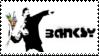 Banksy Stamp by Krisderp