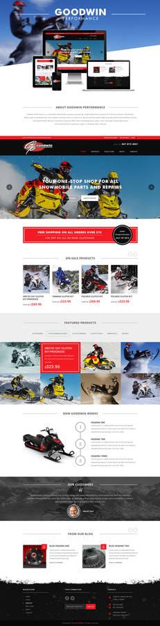 Goodwin Performance Website Design