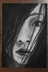 Black Stare by Emperor-Monkey