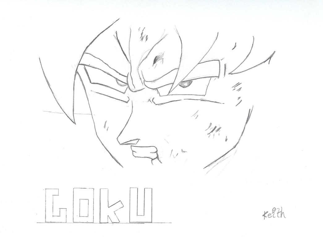 goku face shot by neogearzx on deviantart