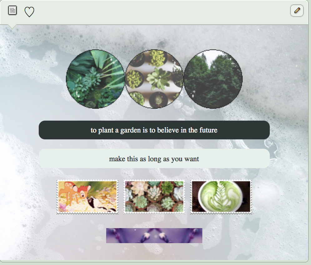 friends with plants - f2u code by aesthetic-egg