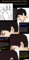 Hair Drawing tutorial in PS