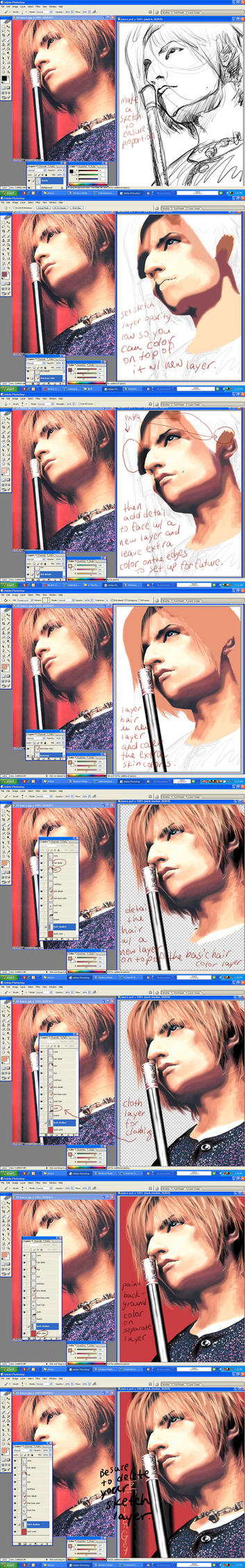 Photoshop realism tutorial by CodenameParanormal
