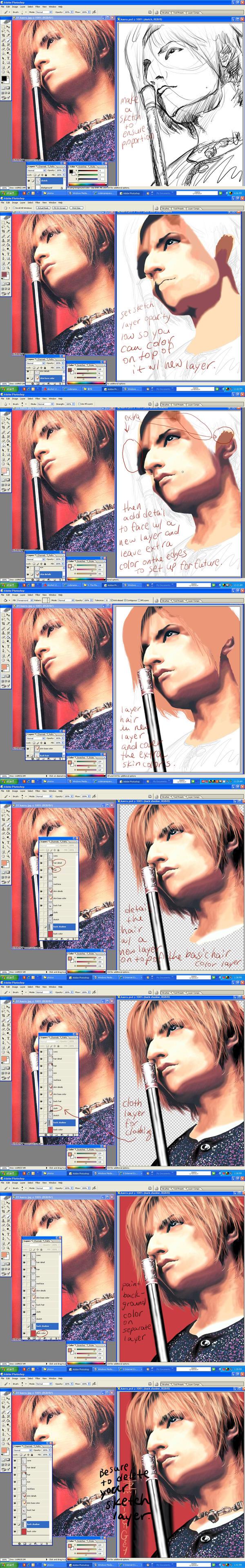 Photoshop realism tutorial