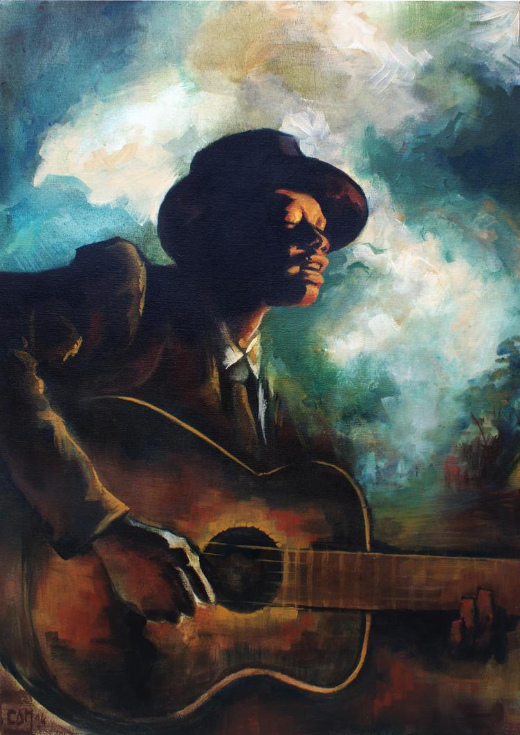 Bluesman by CamilleNat