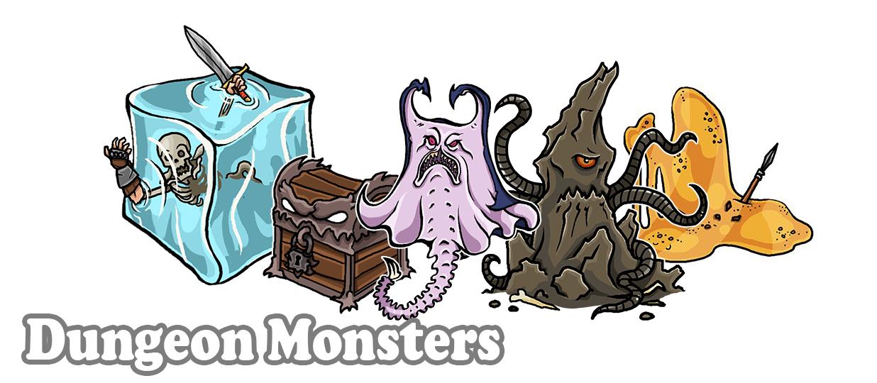 Dungeon Monsters by PrintableHeroes on DeviantArt