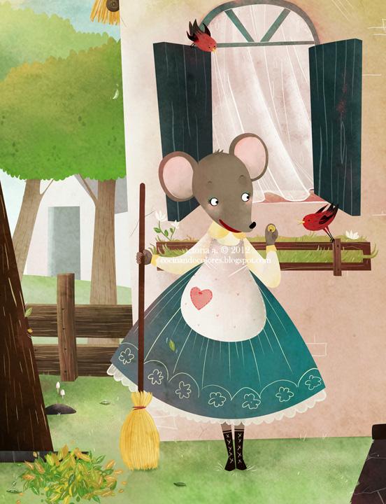 vain little mouse