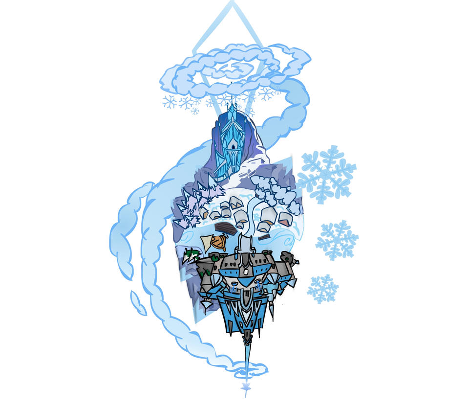 Kingdom Hearts III- Frozen World: Arendelle Arctic by Group5Show