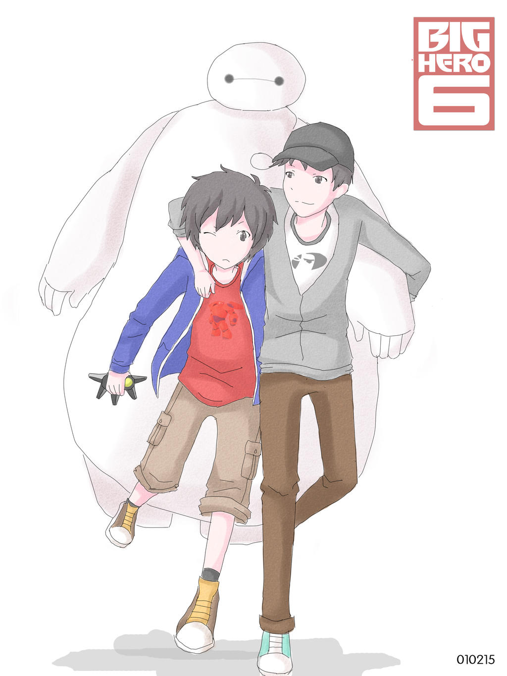 Big Hero 6 by isoscelestriangle