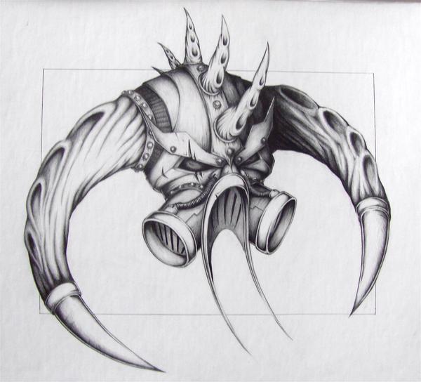 Death Helmet by Chaos-Fox