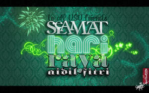 Selamat Hari Raya Aidilfitri :) by Afiqi