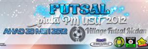 Banner Futsal PM USU by Afiqi