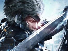 Raiden - Metal Gear Rising by Afiqi