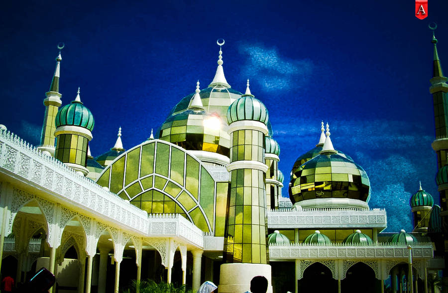 Crystal Mosque by Afiqi
