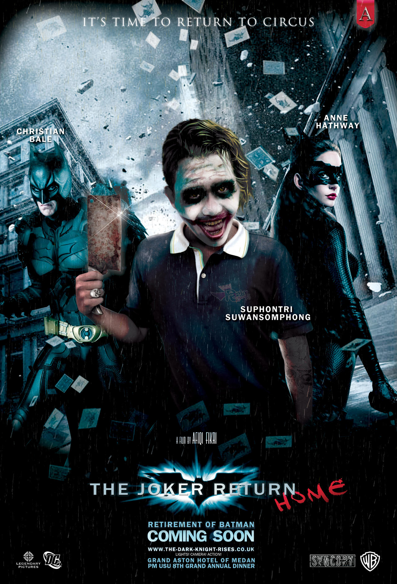 Poster Parody: The Joker Return HOME by Afiqi
