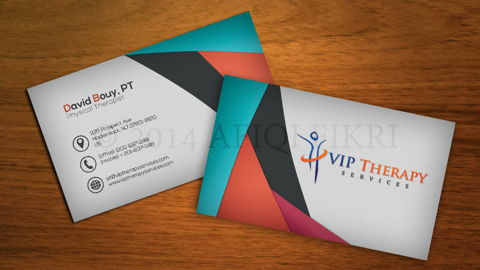 Commission info: Professional business card 3 by Afiqi