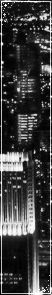 Black and White City Divider/Page Decoration 2