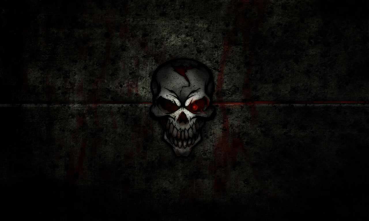 Skull wallpaper by puinkey