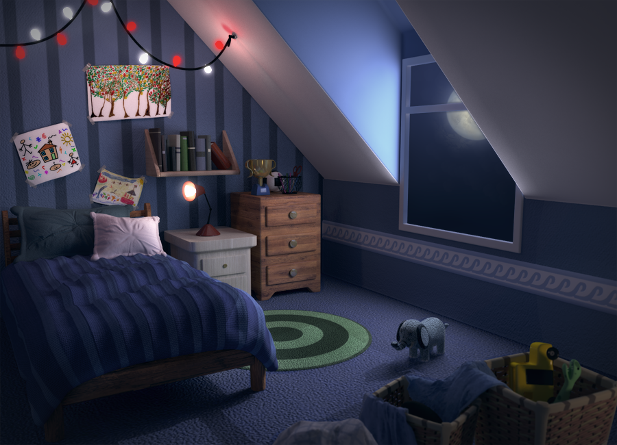Bed Room concept by ManolloB