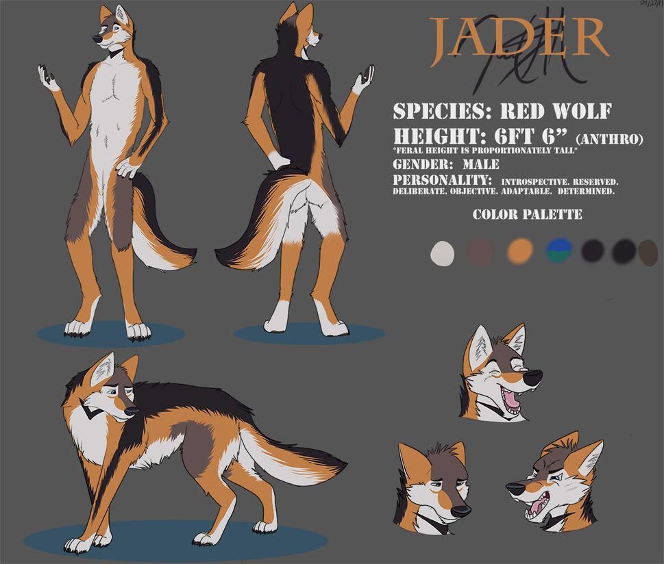 Jader Reference Sheet by JadSMor