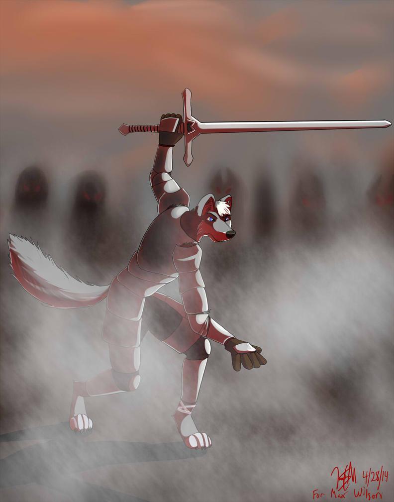 Facing the Horde by JadSMor